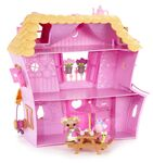 Mini Lalaloopsy - Sew Sweet Playhouse (2014 re-release) - inside look