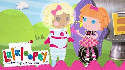 Dot Goes To Space Lalaloopsy