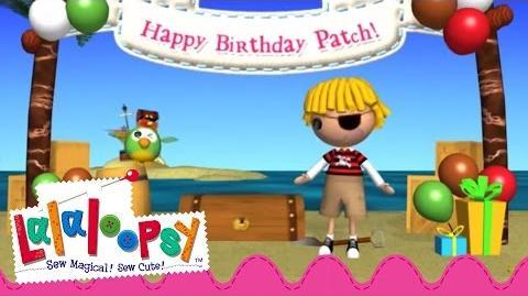 Patch Treasurechest's Birthday Lalaloopsy