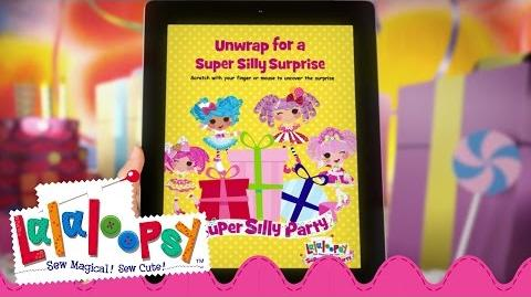 Lalaloopsy Super Silly Party - You're Invited! Super Silly Party Dolls - Commercial