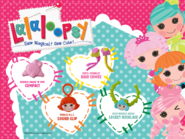 Burger King-Lalaloopsy accessories