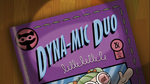 Dyna-mic Duo title card