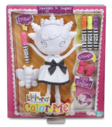 Squiggles N' Shapes Color Me Doll box