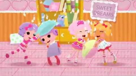 Lalaloopsy™ Webisode 4 Pillow Featherbed™ Up All Night