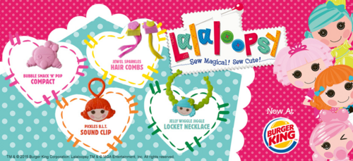 Burger King-Lalaloopsy accessories wider
