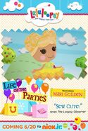 Lalaloopsy on Nick Jr. promo - 06.20.14 New Episode!