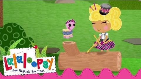Sticks Boom Crash Sewn On Date Lalaloopsy