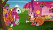 LPTBS Peanut meets the Ponies