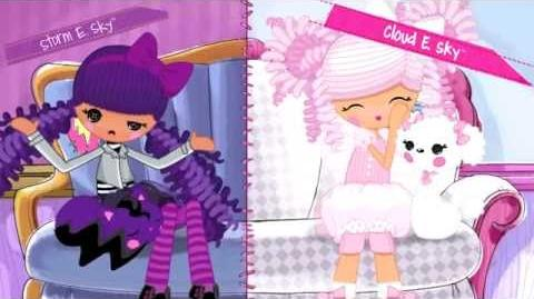 Lalaloopsy Girls - Storm E. & Cloud E