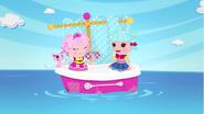 Marina and jewel sailing