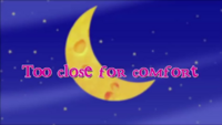 Too close for comfort title card