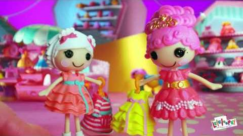 Lalaloopsy Style 'N' Swap 15 Commercial