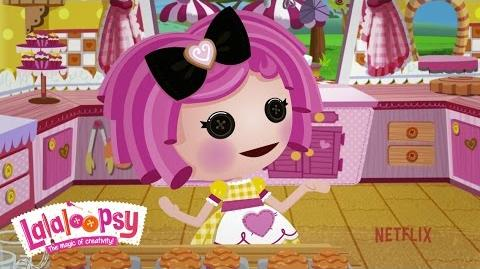 Meet Crumbs Sugar Cookie We're Lalaloopsy Netflix Original Series