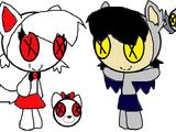 Fang Vampbat and Moonshine Wolfhowl