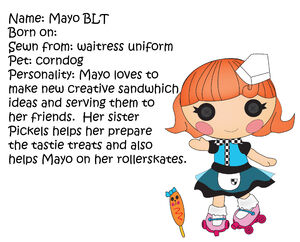 lalaloopsy little sisters coloring pages - mayo blt lalaloopsy land fanon wiki fandom powered by