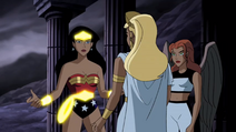 Wonder Woman Unlimited After Showing Her Eyes