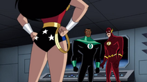 Wonder Woman Animated Back and Legs