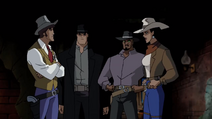 Wonder Woman Unlimited Holding Her Cowgirl Belt