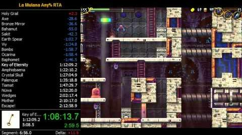 La-Mulana Remake RTA (SS Speedrun) in 2 09 18