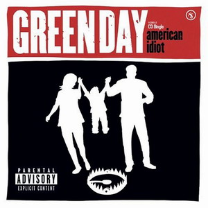 Green Day - American Idiot single cover