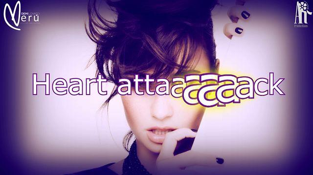 Demi Lovato - Heart Attack (Lyric video) HD