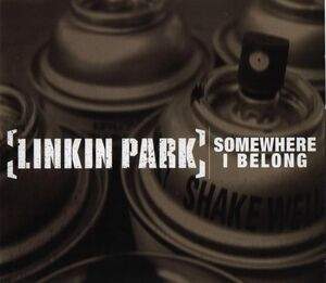 Linkin Park - Somewhere I Belong CD cover
