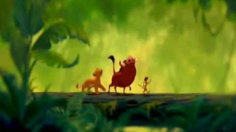 The Lion King - Hakuna Matata (English HQ)