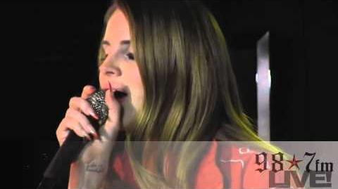 "Lana Del Rey- ""Born To Die"" LIVE inside the 98"
