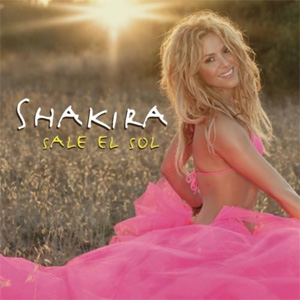 Shakira sale el sol single cover