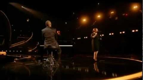 Adele performing Someone Like You BRIT Awards 2011