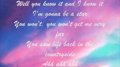 A Star for Nick - Lyrics