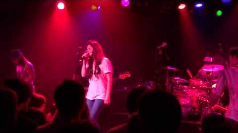 Lana Del Rey performing Roadhouse Blues with Camp Freddy