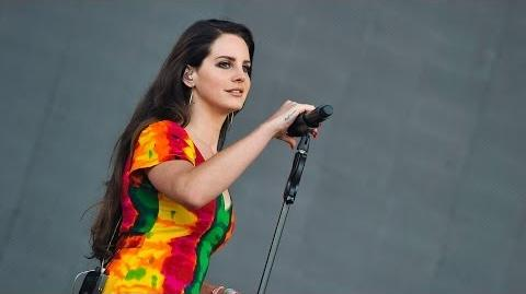 Lana Del Rey - Ultraviolence at Glastonbury 2014-0