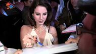 Lana-del-rey-greets-fans-at-the-2013-grammy-after-party-at-chateau-video-id161578211