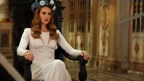 Lana Del Rey - Born To Die (Behind The Scenes)