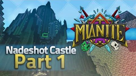 Minecraft Mianite Building - Nadeshot's Castle Part 1 Inc. Timelapse footage