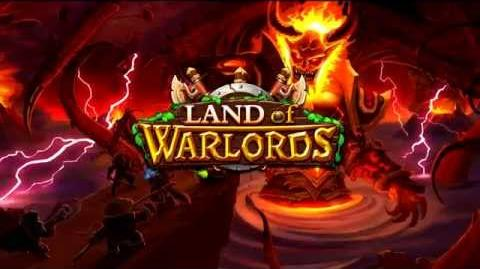 Land of Warlords Free on APP store and Google Play!