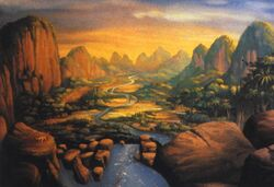 The land before time great valley