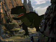 Papa Sharptooth enters the fray