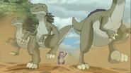 Fleeing Herrasaurus