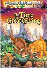 The Time of the Great Giving - DVD cover