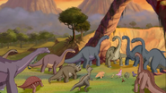 Unknown sauropods in The Lone Dinosaur Returns