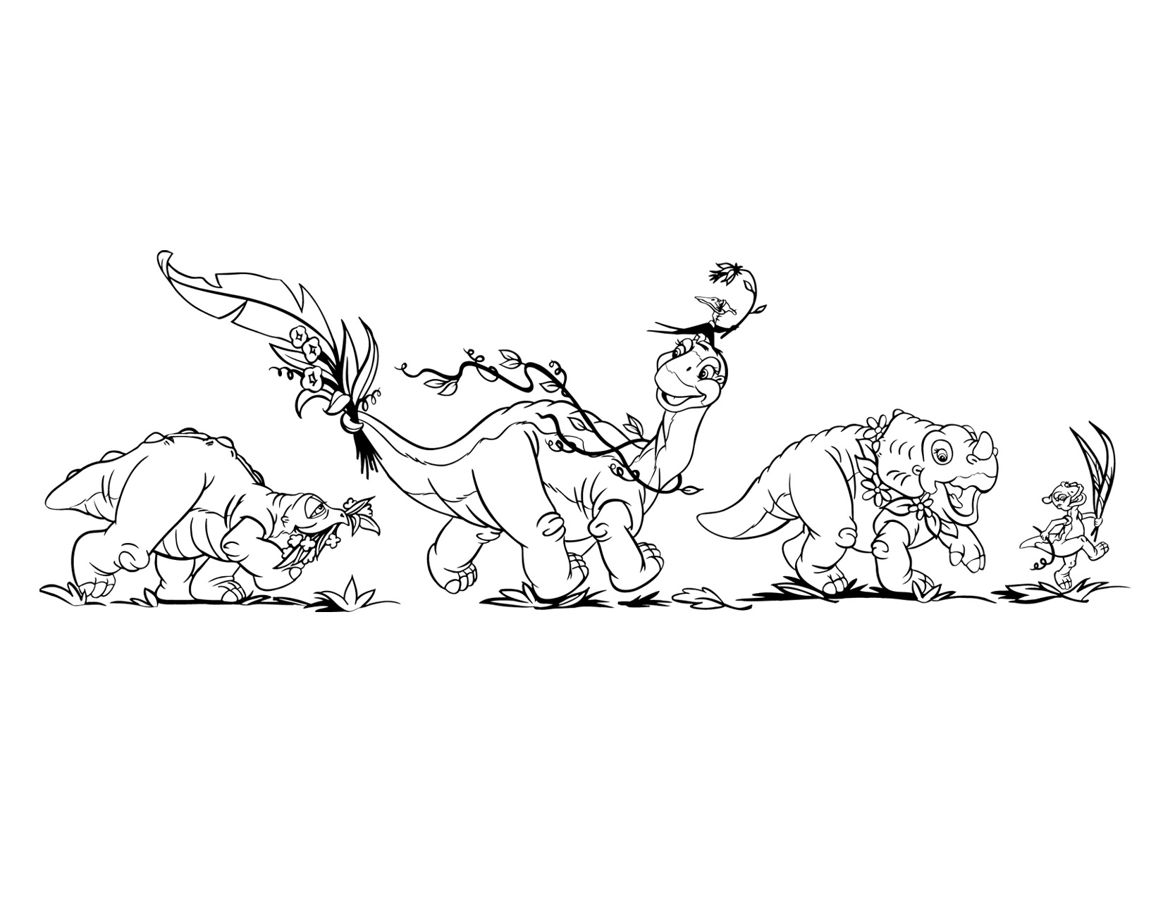 image coloring page 4 movie 5 png land before time wiki