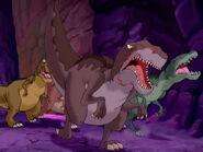 Yellow Baryonyx as a T. rex