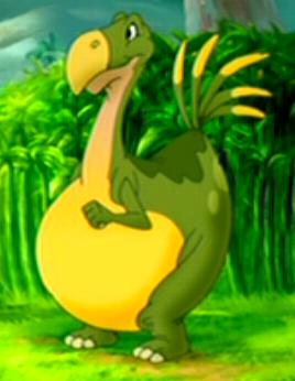 Foobie the Yellow Belly Beipiaosaurus