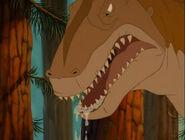 Allosaurus drooling