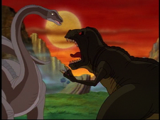 BMMF Sharptooth VS Lone Dinosaur