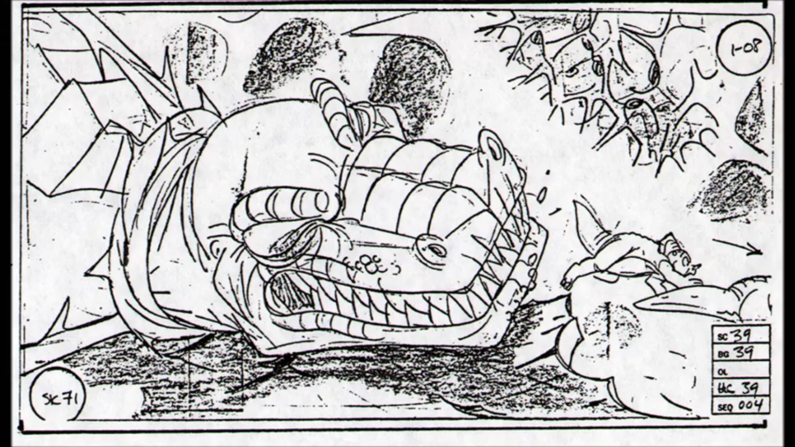 Image - Sharptooth Storyboard 21.png | Land Before Time Wiki ...