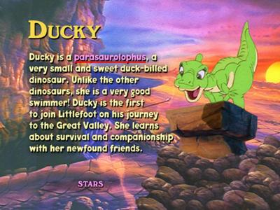 Ducky species on LBT1 DVD