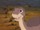 50-Littlefoot's happy when the grownups ask him to guide them to the Threehorn Peak